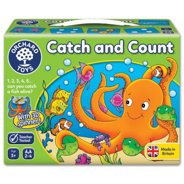 Orchard Toys Catch And Count Game Puzzle 3 Yaş+
